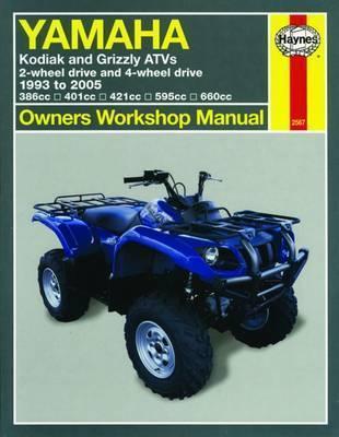 Yamaha Kodial and Grizzly ATV (93-05)