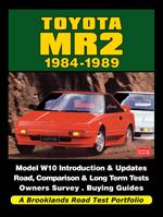 Toyota MR2 1984-89 Road Test Porfolio