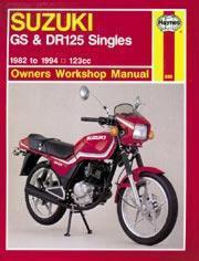 Suzuki GS, GN, GZ & DR 125 Singles 1982-99