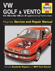 Volkswagen Golf & Vento 1992-98