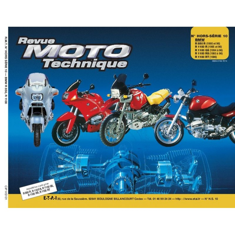 FHS10 Bmw R850R - R1100R/GS/RS/RT 1993-96