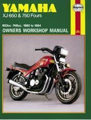 Yamaha XJ 650 & 750 Fours 1980-84