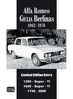 Alfa Romeo Giulia Berlinas 1962-76 Limited Edition