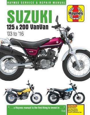 Suzuki RV125/200 VanVan 2003-17