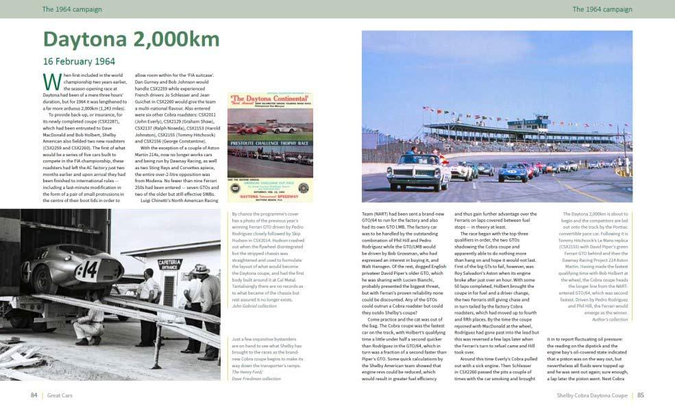 Shelby Cobra Daytona Coupe - Great car series