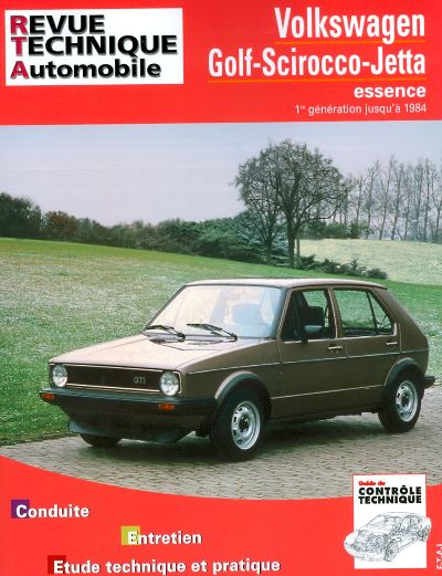 Volkswagen Golf/Jetta/Scirocco ...1984 (RTA731)