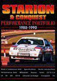 Mitsubishi Starion & Conquest Portfolio 1982-90