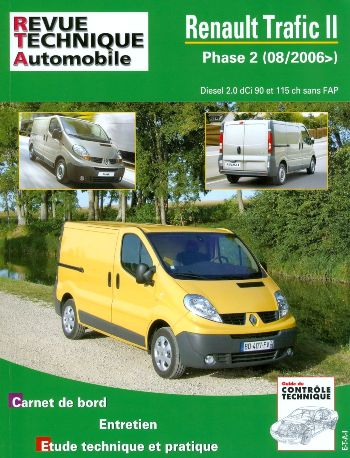 Renault Trafic II D 2.0 dCi 90/115 ch (RTAB755)
