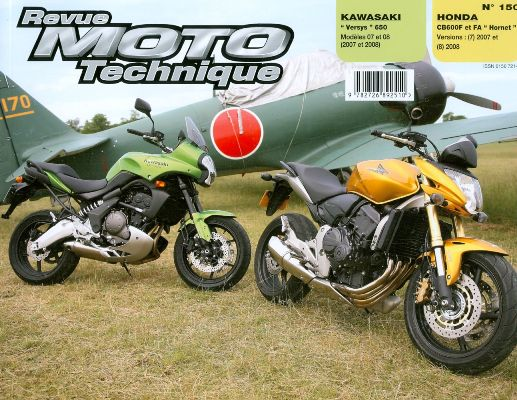 F150 Kawazaki Versys 650, Honda CB600F & FA Hornet