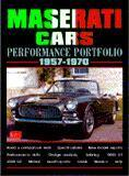Maserati Cars Performance Portfolio 1957-70