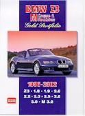 Bmw Z3 M Coupes & Roadsters Gold Portfolio 1996-02