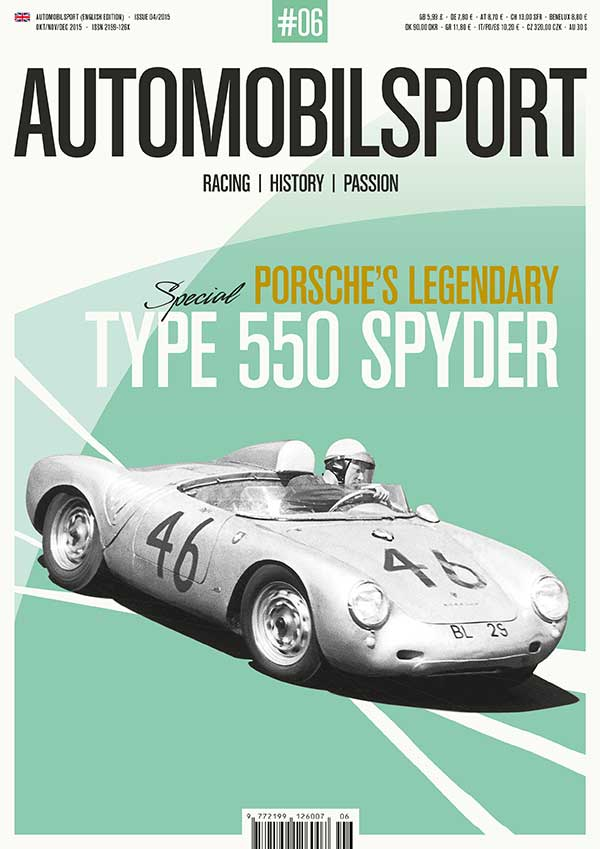 Porsche 550 Spyder & Coupe (Vol. 6 Automobilsport)