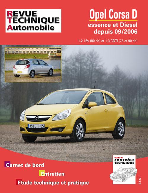 Opel Corsa D -2006 Gasolina 1.2/1.3CDti (RTAB725)