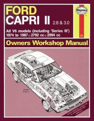 Ford Capri II & III 2.8 & 3.0V6 1974-87