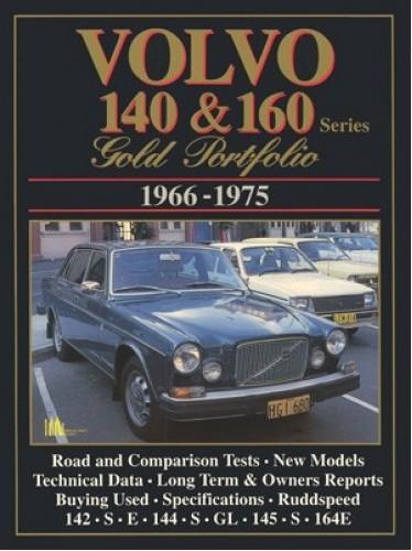 Volvo 140 & 160 Series Gold Portfolio 1966-75