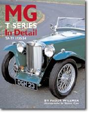 MG T Series In Detail 1935-54