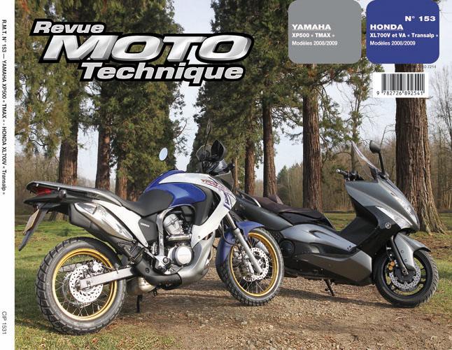 F153 Yamaha 500TMax 08-09 Honda XL700V 2008-09