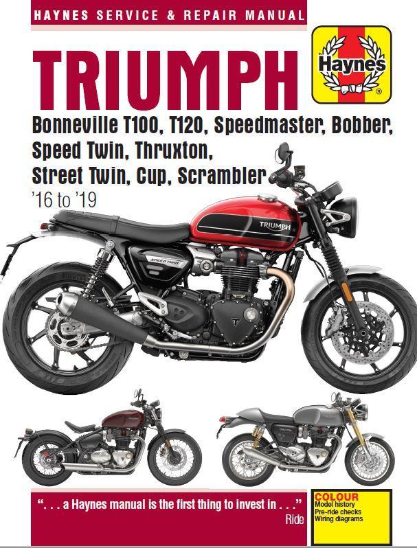 Triumph Street Scrambler (2017 - 2019)