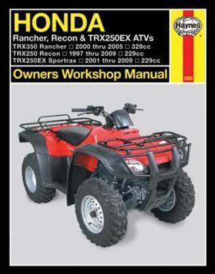 Honda Rancher, Recon, TRX250EX 1997-2009