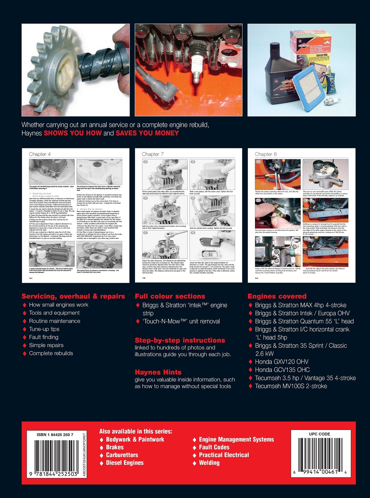 Haynes Small Engine Manual