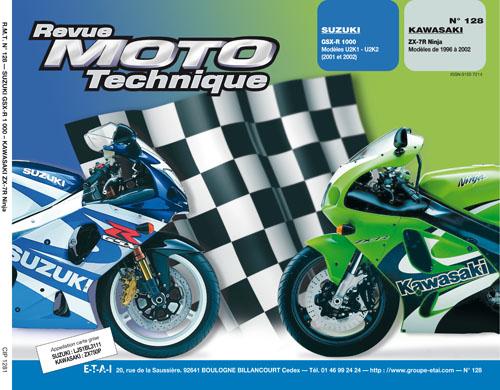 F128 Suzuki GSXR1000 01-02 Kawasaki ZX-7R 1996-02