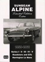 Sunbeam Alpine Limited Edition Extra 1959-68