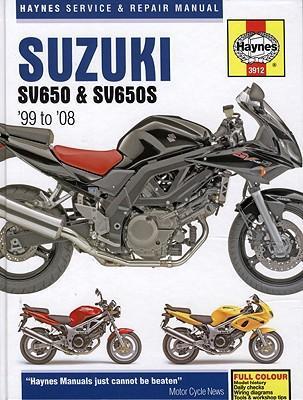 Suzuki SV650 & SV650S 1999-08