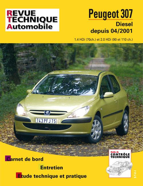 Peugeot 307 HDI Desde 04/2001 (RTA678)
