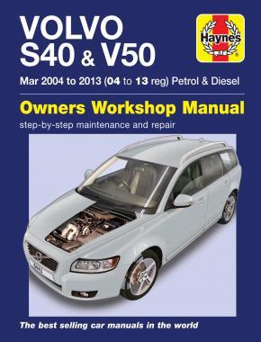 Volvo S40 & V50 Petrol & Diesel 2004-13