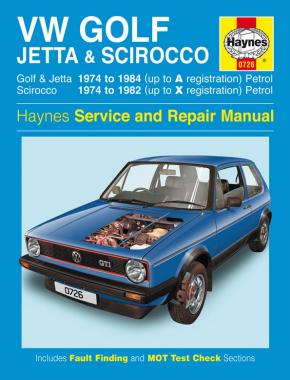 VW Golf, Jetta, Scirocco MK1 1.5,1.6,1.8 1974-84