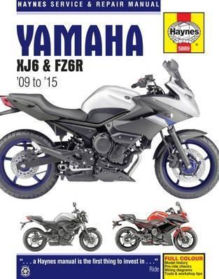 Yamaha XJ6 & FZ6R 09-15