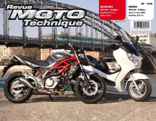 F156 Honda 125 SWing Suzuki SFV650 Gladius