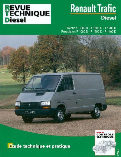 Renault Trafic Diesel 81-98 (RTA122)