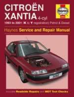 Citroen Xantia Petrol & Diesel 1993-01