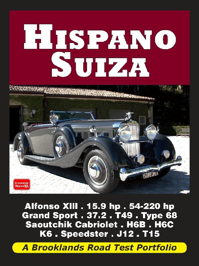 Hispano Suiza Road Test Portfolio
