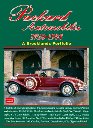Packard Automobiles 1920-58