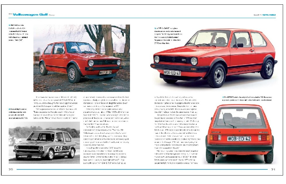 Volkswagen Golf Story: 40 Years of 2nd Peoples car