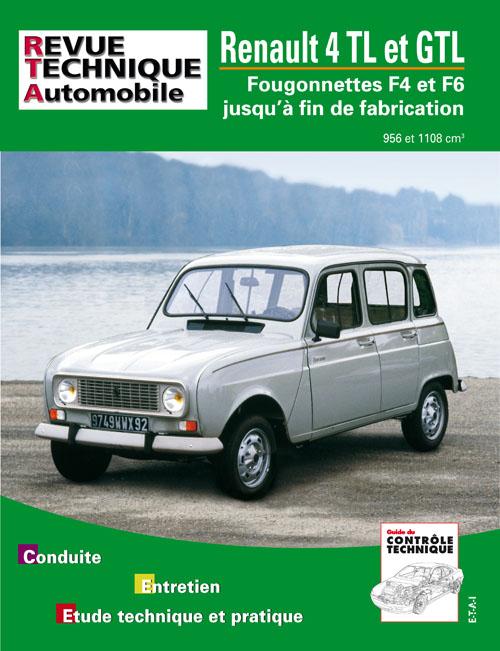 Renault 4L/GTL (87-93) et Fourg. (75-93) RTA388