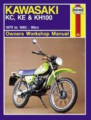 Kawasaki KC, KE, KH100 1975-99