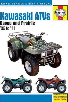 Kawasaki Bayou & Prairie ATVs 1986-11