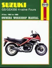 Suzuki GS/GSX550 4-Valve Fours 1982-88