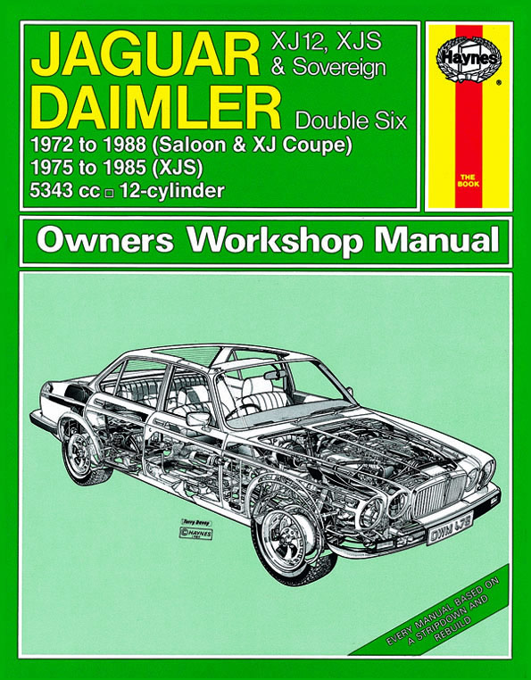 Jaguar XJ12, XJS and Sovereign; Daimler Double Six