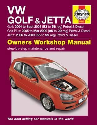 Volkswagen Golf & Jetta Petrol/Diesel 2004-09