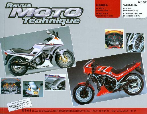 F057 Honda VF400-500 83-86Yamaha FJ1100-1200 84-85