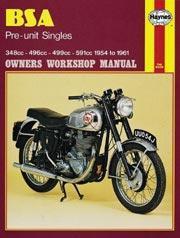 Bsa Pre Unit Singles 1954-61