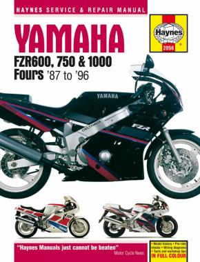 Yamaha FZR 600, 750, 1000 1987-96