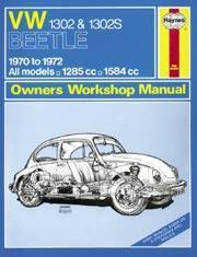 Volkswagen Beetle 1302 & 1302S 1970-72