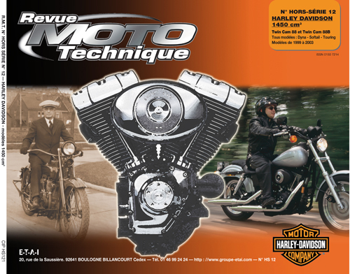FHS12 Harley 1450 Dyna-Softail-Touring 99-03