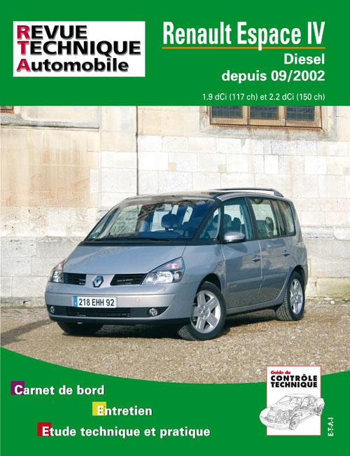 Renault Espace IV TD 1.9 & 2.2 dci 2002-  (RTA682)