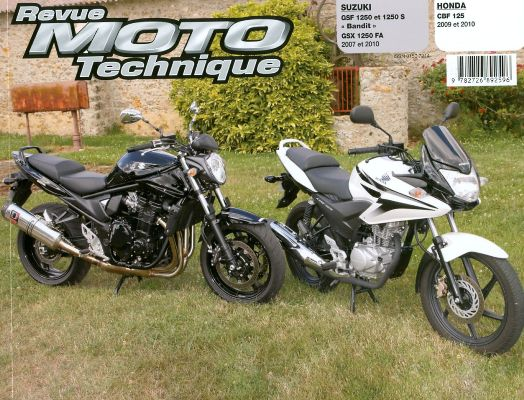 F158 Honda CBF 125 Suzuki GSF1250 Bandit
